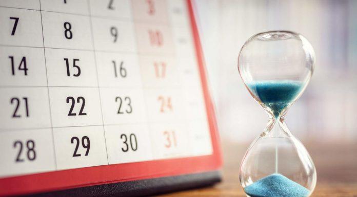 Calendario fiscal del 2018 descargable